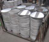 Hoja de círculo de aluminio para la olla de presión