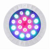 La résine plate extra mince a rempli lampe légère sous-marine de piscine certifiée par UL de RoHS de la CE de la lumière LED de piscine IP68