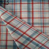 Tela teñida hilado tejida 100% del popelín de algodón para las camisas/alineada Rls40-47po