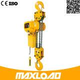 5 Ton polipasto eléctrico de cadena con gancho fijo Tipo (HHBB05-02SF)