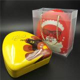 L'arrivée neuve a décoré la boîte-cadeau de sucrerie de biscuit de cadre de bidon de Noël (T003-V9)