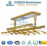 Kundenspezifisches Aluminium kleidet Zahnstange mit Drying/LED Beleuchtung/Sanitization-Merkmal