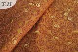 小さい円の330GSMによる混合されたプロセスジャカードソファーの布