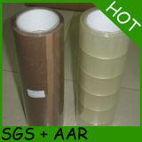 Nastro adesivo acrilico dell'imballaggio del Brown