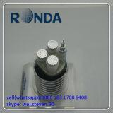 De ondergrondse Flexibele Kabel van de Macht van de Legering van het Aluminium 0.6kv