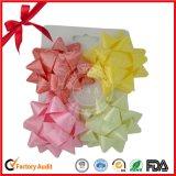 Venta caliente del embalaje de regalo de plástico de la estrella del arco para la decoración o Embalaje de regalo