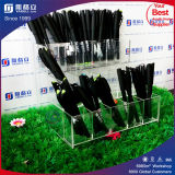 Clear 120 Slot Table Top Counter Top Pen Stand