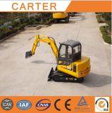CT45-8b hydraulische Multifunktionsgleisketten-Minigräber