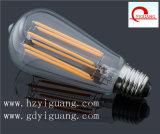 2016 bulbos del filamento de la pintura LED del nuevo producto St64