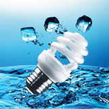 halbe gewundene Lampe des T2-13W der Energieeinsparung-CFL mit SKD Zubehör (BNFT2-HS-C)