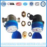 Счетчик воды двигателя сухой шкалы Nylon одиночный счетчика воды Китая