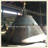 炭素鋼の円錐ヘッド大型の皿に盛られたエンドキャップ
