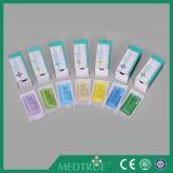 CE/ISO de goedgekeurde Medische Beschikbare Zijde vlechtte Chirurgische Hechting met Naald