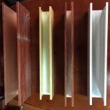 Plafond carré en aluminium de panneau de cannelure de plafond en métal