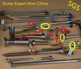 Do auto Drilling principal do parafuso do Drywall do parafuso do auto do cornetim parafuso de batida