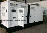 700kVA 560kw Reservebewertungs-Energie Pekins schalldichter Dieselgenerator