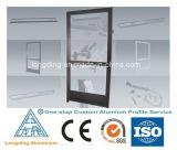 Perfil de aluminio de encargo de la fábrica para la puerta y la ventana de aluminio