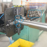 Tubo de escape flexible que hace la máquina