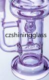 Heißes verkaufenhand durchgebranntes abnehmbares rauchendes Wasser-Glasrohr mit Inline-Diffuser (Zerstäuber)
