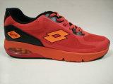 Zapatos rojos del amaestrador de Outsole del bolso de aire superior del acoplamiento de los hombres