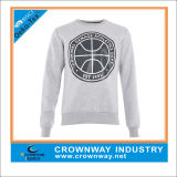 Camisola por atacado francesa de Crewneck do Mens de Terry sem capa