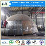 大型の球形ヘッドによって皿に盛られる終わりのヘッドタンクヘッド