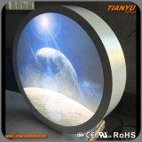 カスタマイズされた展示品の表示アクリルの円LEDのライトボックス