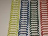 Doppeltes Loop Wire für Spiral Book Binding in Roll