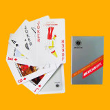 Покер играя карточек 100% пластичный с изготовленный на заказ логосом