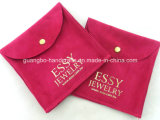 High-End Customized Velvet Jewellery Pouch