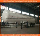 De Aanhangwagen van de Tank van LPG van de Aanhangwagen 25tons van het Gas van LPG ASME 56000L voor Tanzania