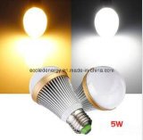 Ce e Rhos 5W E27 Warm White White LED Light