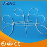 Cintas plásticas de nylon brancas & pretas da alta qualidade de China