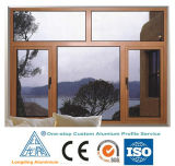 Алюминиевый профиль штрангя-прессовани для алюминиевого Windows и дверей