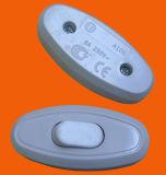 Schakelaar van de Drukknop van Europa de Eenpolige on/off Elektro/Licht Controlemechanisme