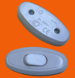 Controlador elétrico de ligar/desligar do interruptor/luz da tecla unipolar de Europa