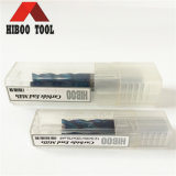 Metal를 위한 제조자 HRC65 Nano Coated Flat End Mills
