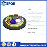 24core Single Mode Kevlar Yarn 120m Span Fiber Optic Wire
