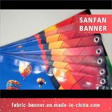 Drapeau de vinyle de câble d'étalage de PVC d'impression de Digitial d'exposition de vol pour la publicité