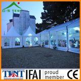 Dossel transparente 12mx15m da barraca do casamento do partido do famoso
