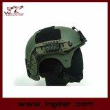 Casco táctico de Ibh con el casco de la versión de la acción del carril lateral del montaje de Nvg