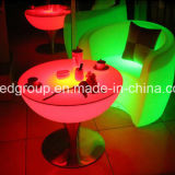 Colore di RGB che cambia la Tabella pranzante della mobilia del salotto del LED