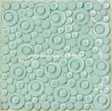 300*300mm (T 1820年)の2016優雅なStyle Round Glass Mosaic