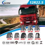 관이 없는 타이어, 트럭 타이어, ECE를 가진 모든 강철 광선 타이어 (12R22.5)