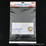 Sacs d'emballage en plastique Clear OPP avec en-tête et autocollants