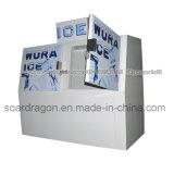 Congelatore popolare di immagazzinamento nel ghiaccio dei doppi portelli per ghiaccio insaccato 200