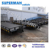 5t Aanhangwagen van de Bagage van het Vervoer van de Lading van het nut de Dubbele Slepende