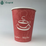 PET Coated Single Wall Paper Cups für Hot Cold Drinking