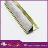 알루미늄 단면도 도기 타일 가장자리 손질은 침실 훈장을%s 대리석 PVC와 섞었다