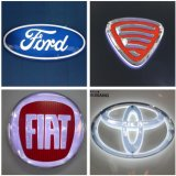 LED Lighting Car Logotipo de marca de logotipo Light Box